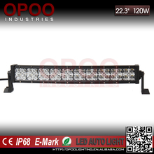 New 7d rgb drl 120w 20'' led light bar with wireless remote control