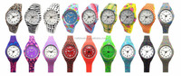 Cheap custom fashion Q&Q plastic watch design,brand colorful plastic watch for kids