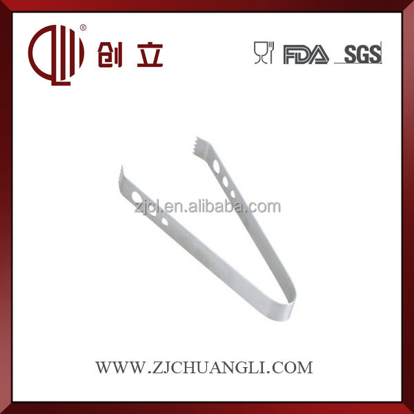 stainless steel antique ice tongs