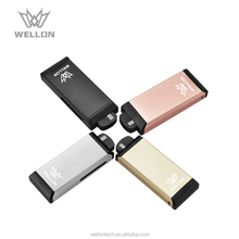 New arrivals 2018 innovative vape e cig vaporizer with skin sensing
