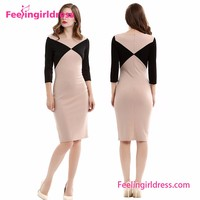New office women dresses designer clothing manufacturers in China