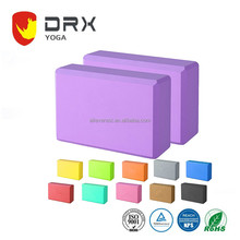 New Product 2017 Yoga & Pilat Type Yoga Block recycled eva foam yoga block