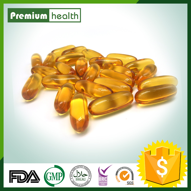 GMP Certified Natural organic flaxseed oil softgel capsule Private label