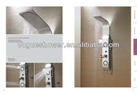 Modern&simple thermostatic Aluminium alloy shower screen/shower panel A7101