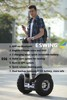 Foldable 2 wheel self balance scooter 2016 single person electric transport vehicle