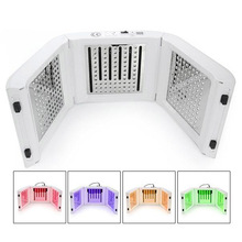 New! Beauty salon omega Light LED Therapy Red /Blue/Green/Yellow 4 Color Led Face Mask Light