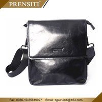Genuine leather hard briefcase or stamp leather bag PRENSITI manufacturers