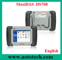 Original autel MaxiDAS DS 708 OBD II & CAN Deluxe Scan Tool promotion for Christmas