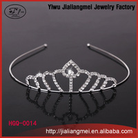 Wholesale Sparkling High Quality crystal rhinestone Bridal Flower tiaras Crown for women