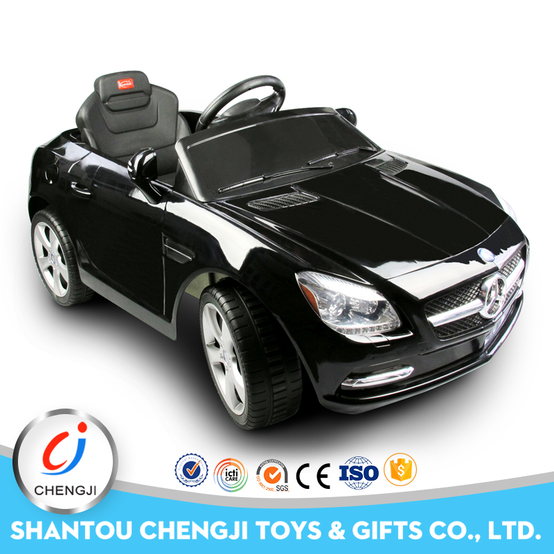 The most popular plastic toys rc big kids ride on car with music