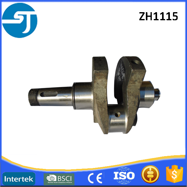 Export Jiangdong single cylinder diesel engine parts ZH1115 crank shaft
