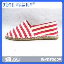 Fashion Jute Casual Shoes Kids Canvas Shoe Slip On Espadrille