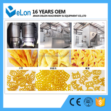 Automatic wheat flour fried pasta Twist snack potato pellets making extruder machine
