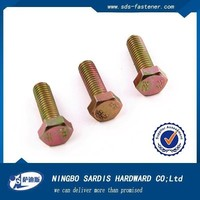 din7968DIN7968,hexagon head fitted bolts for steel structures,GB1228,GB1229,GB1230,all kinds of Bolts
