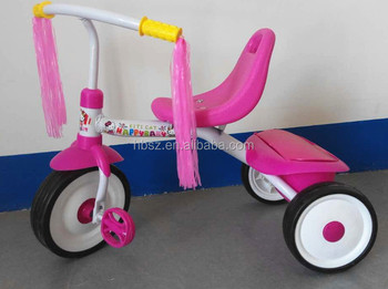 Selling best China cheap price drawing tricycle for children/push baby tricycle/3 wheel kid tricycle for sale