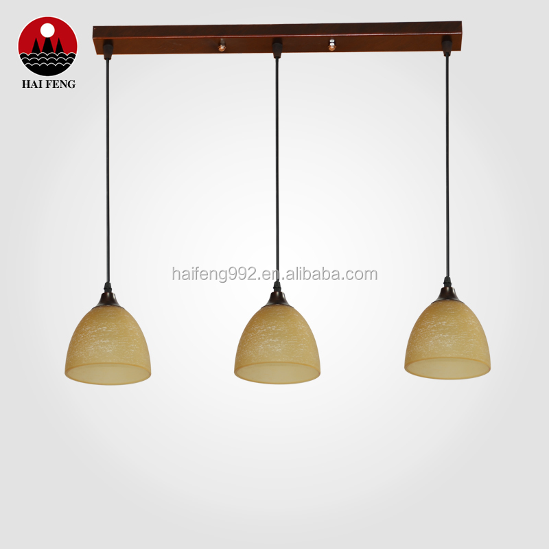 home decorative chandelier 3 heads pendant light