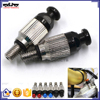 BJ-FBV-001A Motorcycle CNC Aluminum Fork Air Top Button Bleeder Air Pressure Relief Valve M5X0.8 For CR125R CRF250R