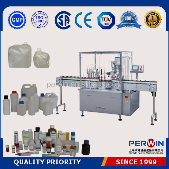 PLC controlled automatic filling line,cooking oil bottling machine 3liter
