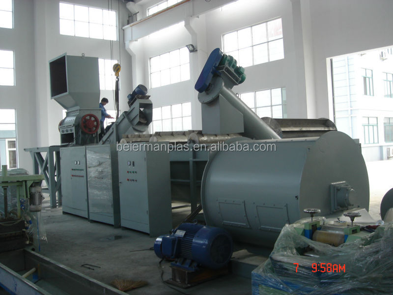 CE/SGS approved good price waste PP PE films recycling line