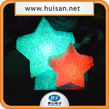 christmas decoration lighted star/five-pointed lighted star/battery operated led light star
