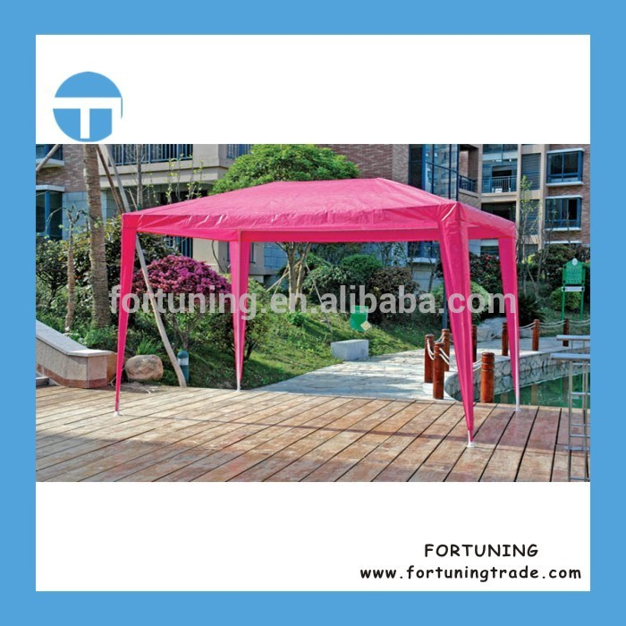 Small MOQ accepted summer use beach garden PE gazebo inflatable canopy / tent