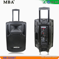 MBA 12 inch wireless microphone portable speaker microphone with Thailand certification
