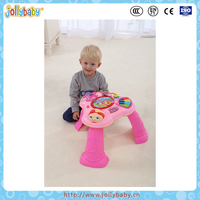 Australian Jollybaby Bilingual Electronic Toys and Funny Musical Kids Baby Learning Table