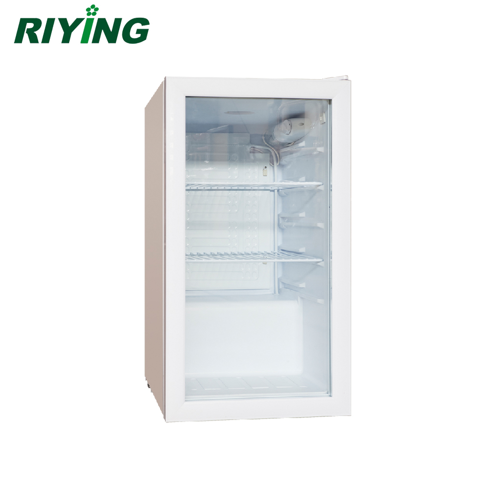 90l Glass Door Mini Bar Fridge Mini Refrigerator For Hotel Buy