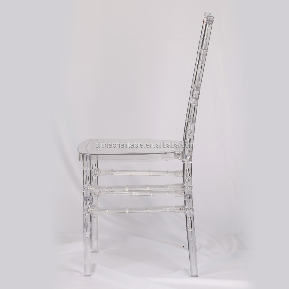 Resin clear chiavari chair diamond chair tiffany chair