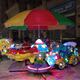 Children Used Kiddie Mini Portable Amusement Park Kids Carousel Ride
