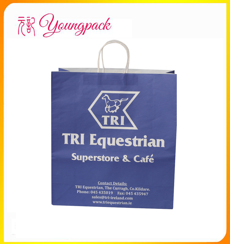 2016 High Quality Factory Paper Goody Bags