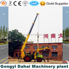 Screw Pile Machine For Electric Power Construction