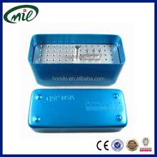 72 holes dental high speed needle's storage and disinfection box