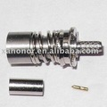BMA female straight bulkhead pure brass RF connector