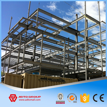 Professional design structural steel frame workshop h beam column rigid frame construction building products supplier