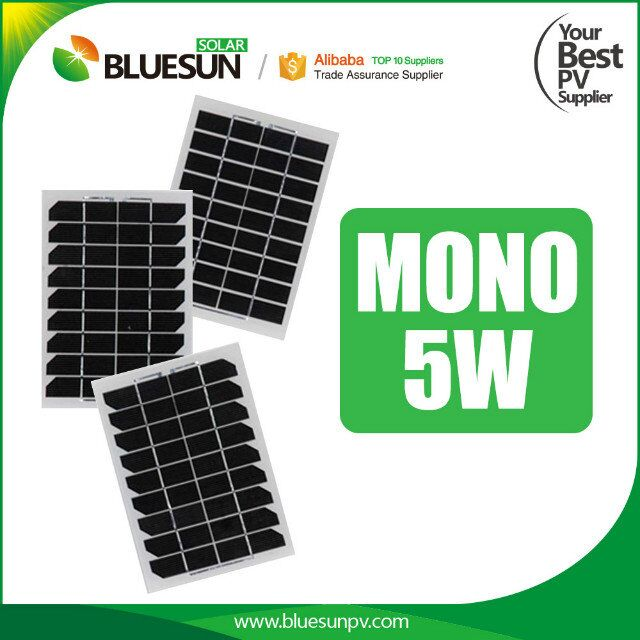 Top selling mono solar panel 5w photovoltaic panel