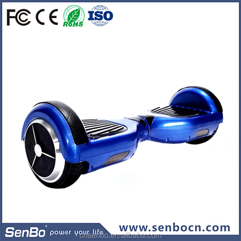 "Shenzhen factory Direct Supply 6.5"" 2 big wheels hover boad smart self balancing electrical scooter"