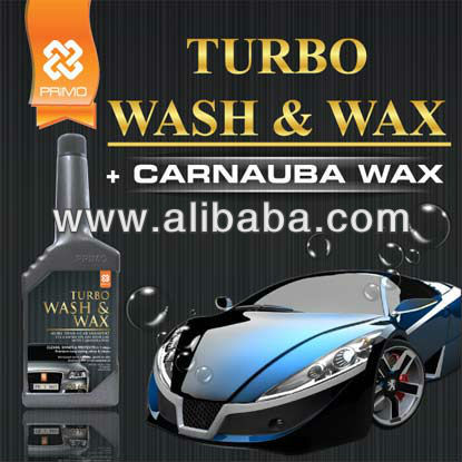 Car Care Cleaning Product: TURBO WASH & WAX (Car Shampoo & Wax)