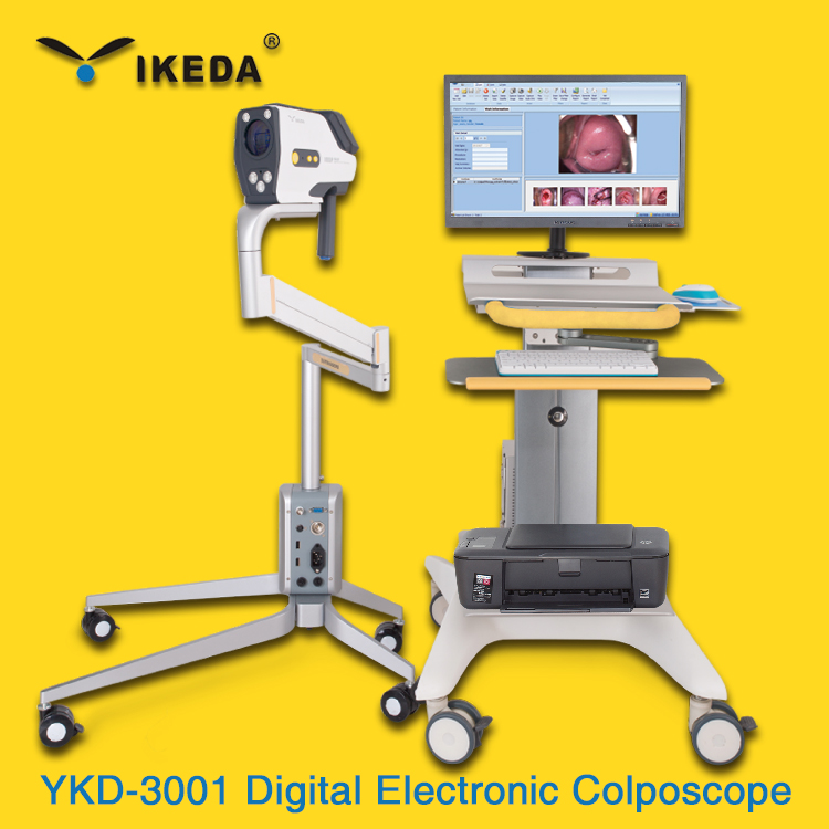 electronic colposcope software/dental digital x-ray system