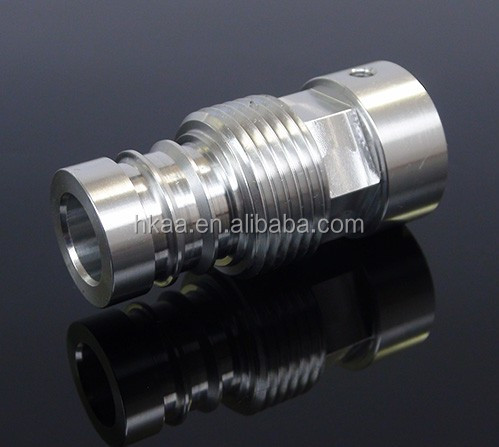 Professional manufacturer customized aluminum quick connect coupling