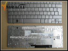 Laptop mini external keyboards For hp laptop Mini 2133 2140 silver