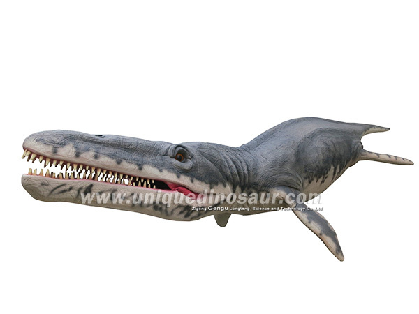 Sea fish prehistoric plastic animal life size
