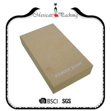 Accept custom electronic products recycled kraft paper box