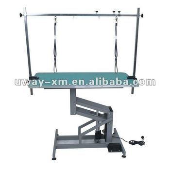 UW-GR-034 Eco-friendly electric lifting grooming table for dogs,height is adjustable 50-100cm