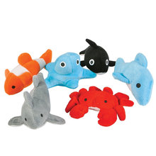 sealife assortment plush toys 3 inch sea animals