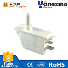 Hot sale IP40 2A 250V AC white Fan shaped refrigerator cabinet door switch