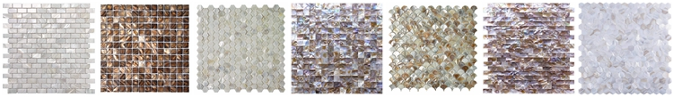 Decorstone24 Hot Sale Herringbone Design Mother Of Pearl Shell Mosaics Tile For Kitchen Backsplash
