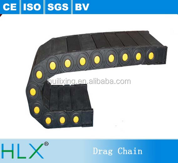 H15*25 Type Drag Chain Plastic Drag Chain Cable Tray