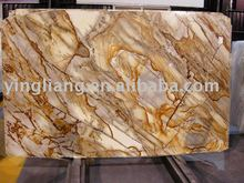 Roman impression yellow granite slab
