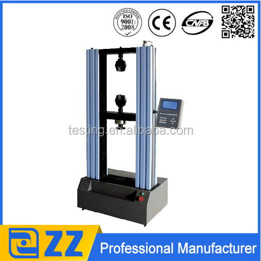 Jinan Zhongzheng digital display electronic metal and nonmetal used tensile testing machine
